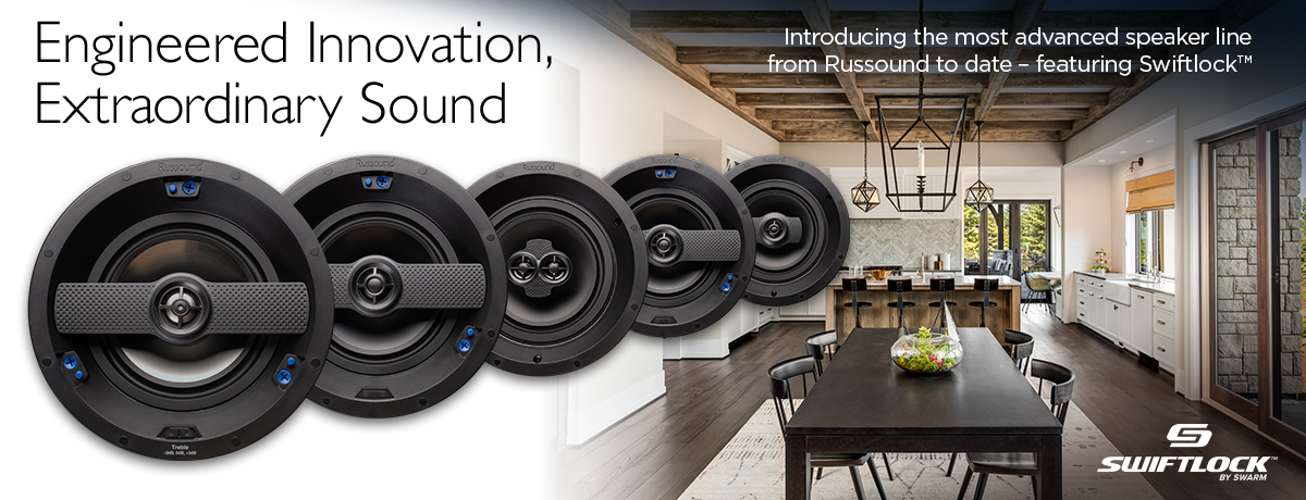 Russound New IC-Series of Ceiling Speakers