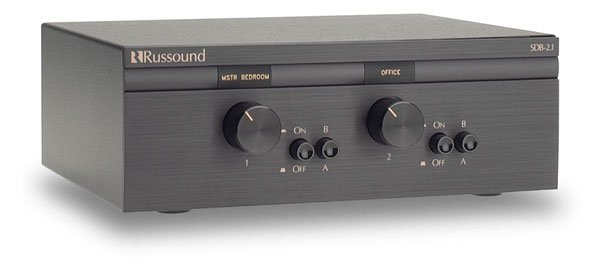 Russound - SDB-2.1 2 Pair, Dual Source Speaker Selectors with ...