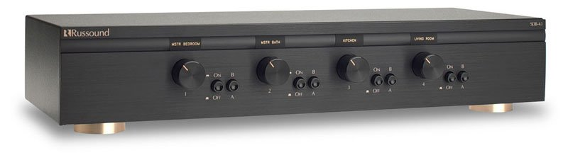 Russound Sdb 4 1 4 Pair Dual Source Speaker Selectors