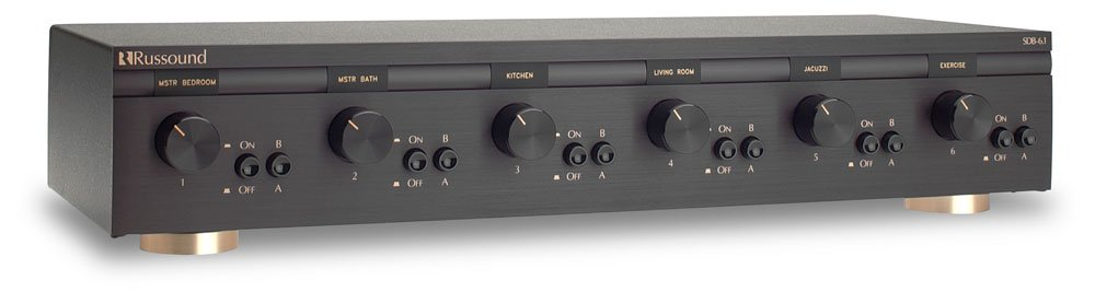 Russound - SDB-6.1 6 Pair, Dual Source Speaker Selectors with Volume ...