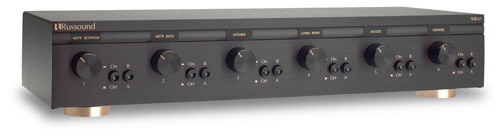 Russound - SDB-6 1 6 Pair, Dual Source Speaker Selectors