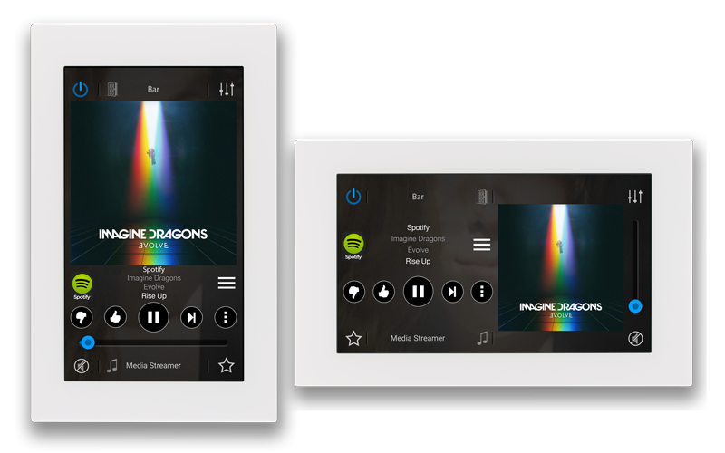 Russound Xts Wall Mounted Color Touchscreen